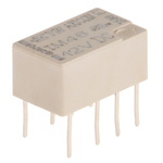 TE Connectivity DPDT PCB Mount Latching Relay - 2 A, 12V dc For Use In Automotive, Telecommunications Applications