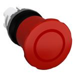 ABB Panel Mount Emergency Button - Pull to Reset, 22mm Cutout Diameter Mushroom Head