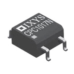 IXYS 100 mA rms/mA dc SPNO Solid State Relay, DC, Surface Mount, MOSFET