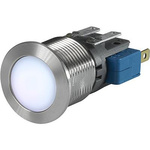 Push Button Touch Switch ,Illuminated, White, IP40, IP67 Ag