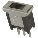 PCB Slide Switch Single Pole Double Throw (SPDT) Latching 400 mA @ 20 V Slide