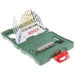 Bosch 30 piece Multi-Material Twist Drill Bit Set, 1.5mm to 8mm