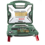 Bosch 100 piece Multi-Material Twist Drill Bit Set, 1mm to 32mm