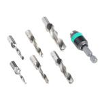 Wera 7 piece Metal Twist Drill Bit Set, 2.5mm to 8.5mm