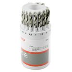 Bosch 19 piece Metal Twist Drill Bit Set, 1mm to 10mm