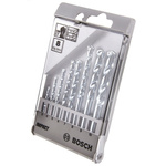 Bosch 8 piece Masonry Twist Drill Bit Set, 3mm to 10mm