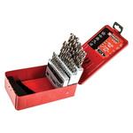 Facom 32 piece Metal Twist Drill Bit Set, 1mm to 10.5mm