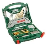 Bosch 70 piece Multi-Material Twist Drill Bit Set, 1.5mm to 32mm