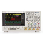 Keysight Technologies DSOX3034A Bench Digital Storage Oscilloscope, 350MHz, 4 Channels With RS Calibration