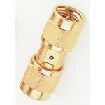 Straight 50Ω RF Adapter SMA Plug to SMA Plug 18GHz
