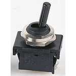 Marquardt DPDT Toggle Switch, On-Off-On, IP40, Panel Mount