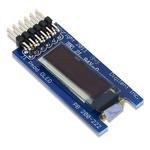 Digilent Blue OLED Display 128 x 32pixels SPI Interface