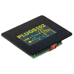 Electronic Assembly 1.7in Yellow OLED Display 128 x 64 Graphics 12C, RS232, SPI, USB Interface