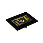 Electronic Assembly 2.9in Yellow OLED Display 128 x 64 Graphics 12C, RS232, SPI, USB Interface