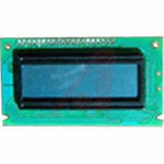 LCD,GRAPHIC MODULE,122X32,TRANSFLECTIVE,LED BACKLIGHT,GRAY MODE STN,BOTTOM VIEW