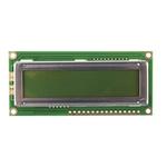 Displaytech 162C-BA-BC Alphanumeric LCD Display Green, 2 Rows by 16 Characters, Reflective