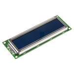 Displaytech 162F-CC-BC-3LP Alphanumeric LCD Display, White on Blue, 2 Rows by 16 Characters, Transflective
