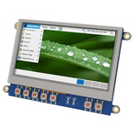 4D Systems 4DCAPE-43T TFT LCD Colour Display / Touch Screen, 4.3in, 480 x 272pixels