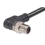 Molex 120086 Series M8 Connector, 3 Port, 2m Cable Length