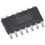 DiodesZetex 74HC00S14-13, Quad 2-Input NAND Schmitt Trigger Logic Gate, 14-Pin SOIC