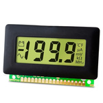 Lascar Digital Voltmeter DC, LCD Display 3.5-Digits ±1 %, 62 x 32 mm