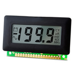 Lascar Digital Voltmeter DC, LCD Display 3.5-Digits 0.1 %, 62 x 32 mm