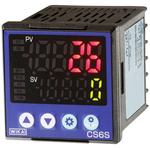 WIKA Panel Mount PID Temperature Controller, 48 x 96mm Relay, 24 V ac/dc, 100  240 V ac Supply Voltage