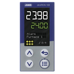Jumo diraTRON DIN Rail PID Temperature Controller, 48 x 96mm 3 Input, 3 Output Relay, 110 → 240 V ac Supply