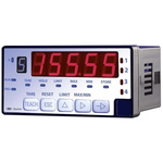 Baumer PA420.014AX01 , LED Digital Panel Multi-Function Meter for Current, Voltage, 93mm x 45mm