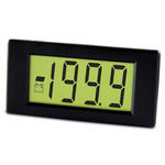 Lascar Digital Voltmeter DC, LCD Display 3.5-Digits ±1 %, 38 x 18 mm