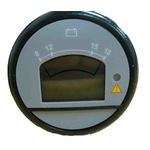 Curtis LCD Digital Voltmeter & Hour Meter 12V dc