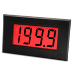 Lascar Digital Voltmeter DC, LCD Display 3.5-Digits ±1 %, 72 x 40 mm