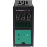 Gefran 1000 PID Temperature Controller, 48 x 96 (1/8 DIN)mm, 1 Output Logic, Relay, 100 → 240 V ac/dc Supply