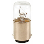 Eaton BA15d Incandescent Bulb, Clear, 230 V, 30 mA