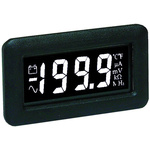 Lascar DPM750S-EB Series Digital Voltmeter DC, LCD Display 37259-Digits ±0.1 %