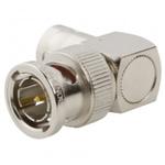 Right Angle 75Ω RF Adapter Plug Plug 4GHz