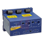 Flowline Switch-Pro Series, Remote Level Controller DIN Rail Mounting Ultrasonic Level Sensor NO/NC, SPDT Relay Output