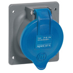 Legrand, Hypra IP44 Panel Mount 2P+E Industrial Power Socket, Rated At 32.0A, 200 → 250 V