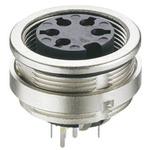 Lumberg 8 Pole Din Socket, DIN EN 60529, 5A, 60 V ac IP68