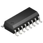 Analog Devices ADUM3223ARZ, MOSFET 2, 4 A, 5V 16-Pin, SOIC