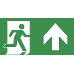 EMERGI-LITE Emergency Exit Legend for use with EMERGI-LITE Emergency Light