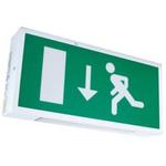 EMERGI-LITE LED Emergency Lighting, Bulkhead, 3.9 W, Maintained, Non Maintained