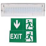 Knightsbridge LED Emergency Lighting, Bulkhead, 6 W, Maintained