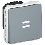 8 A Surface Mount Button Light Switch, 250 V ac IP55, Plexo