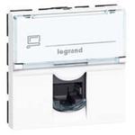 Legrand White Socket Aluminium Cat6A, RJ45 Socket