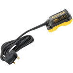 DeWALT DCB500-GB Power Tool Charger, 54V for use with DHS780 Mitre Saw Blade, UK Plug