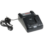 Bosch 1.600.A01.9S8 Power Tool Charger, 18V for use with 18 V Batteries, Euro Plug