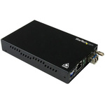 Startech 10/100/1000Mbit/s LC, RJ45 Single Mode Media Converter Half/Full Duplex 20km