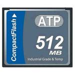 ATP L800Pi CompactFlash Industrial 512 MB SLC Compact Flash Card
