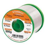 Stannol 0.7mm Wire Lead Free Solder, +217°C Melting Point